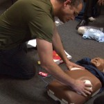 Bonnie - Dan putiing on AED patches