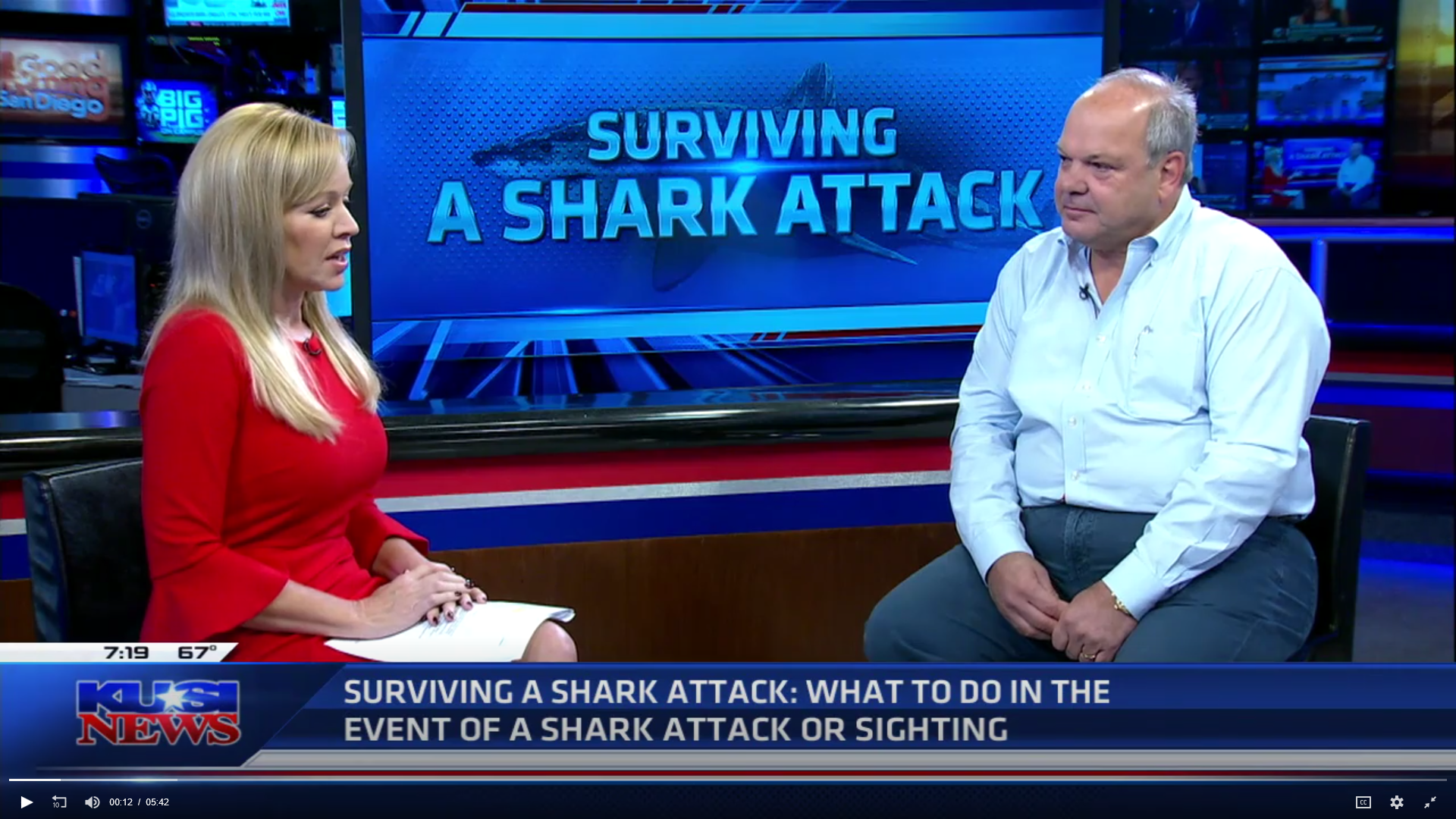 Surviving a Shark Attack