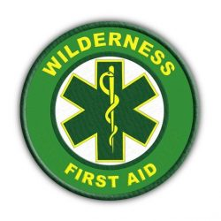Wilderness First Aid badge